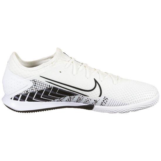 Mercurial Vapor 13 Pro MDS Indoor Fußballschuh Herren, weiß / schwarz, zoom bei OUTFITTER Online