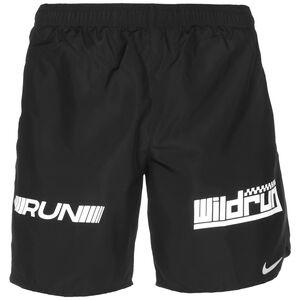 Challenger Wild Run Laufshorts Herren, schwarz / weiß, zoom bei OUTFITTER Online