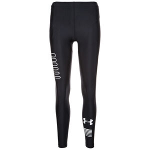 HeatGear Run Graphic Lauftight Herren, Schwarz, zoom bei OUTFITTER Online