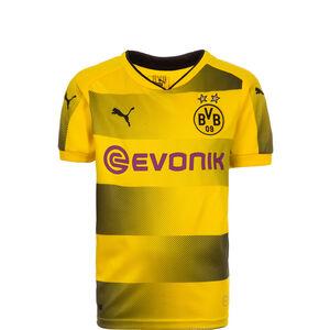 Borussia Dortmund Trikot Home 2017/2018 Kinder, Gelb, zoom bei OUTFITTER Online