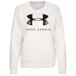Favorite Fleece Sportstyle Graphic Sweater Damen, weiß, zoom bei OUTFITTER Online