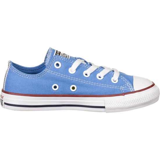 Chuck Taylor All Star Seasonal OX Sneaker Kinder, blau / rot, zoom bei OUTFITTER Online