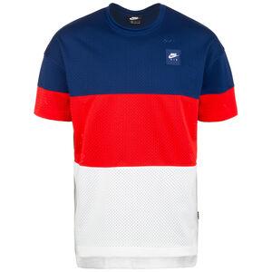 Air T-Shirt Herren, blau / rot, zoom bei OUTFITTER Online