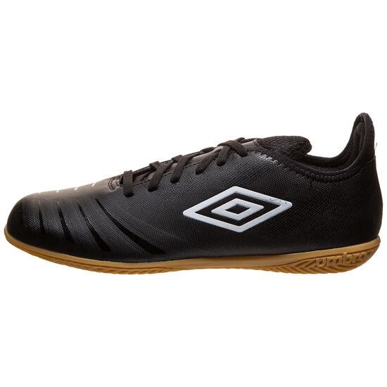 UX Accuro III Club Indoor Fußballschuh Herren, schwarz / weiß, zoom bei OUTFITTER Online