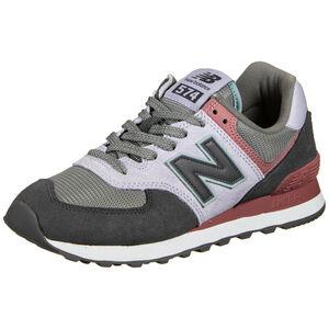 ML574-B Sneaker Damen, grün / rot, zoom bei OUTFITTER Online