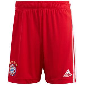 FC Bayern München Short Home 2020/2021 Herren, rot / weiß, zoom bei OUTFITTER Online
