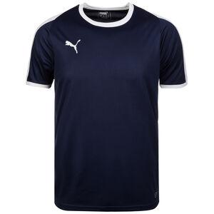 Liga Fußballtrikot Herren, dunkelblau / weiß, zoom bei OUTFITTER Online