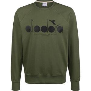 5 Palle Crew Sweatshirt Herren, dunkelgrün / schwarz, zoom bei OUTFITTER Online
