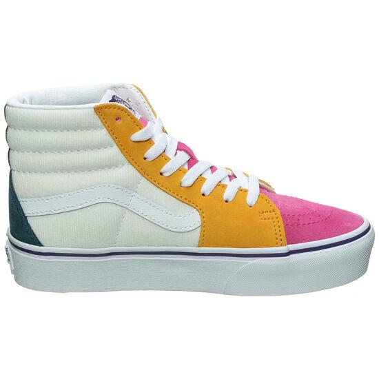 Sk8-Hi Platform 2.0 Sneaker, pink / gelb, zoom bei OUTFITTER Online