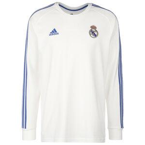 Real Madrid Icons Longsleeve Herren, weiß / blau, zoom bei OUTFITTER Online