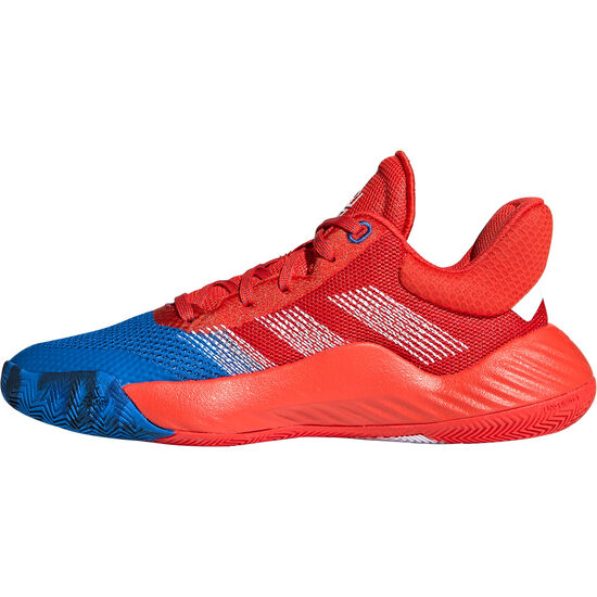 D.O.N. Issue 1 Basketballschuhe Kinder, blau / rot, zoom bei OUTFITTER Online