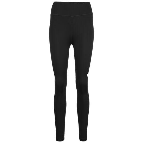 Swoosh Run 7/8 Lauftight Damen, schwarz / silber, zoom bei OUTFITTER Online