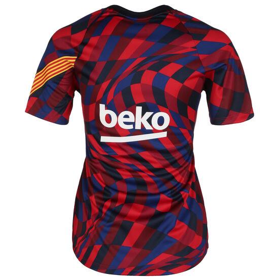 FC Barcelona Pre-Match T-Shirt Damen, rot / blau, zoom bei OUTFITTER Online