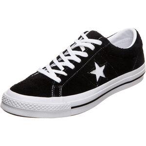 One Star Premium Suede Sneaker, schwarz / weiß, zoom bei OUTFITTER Online