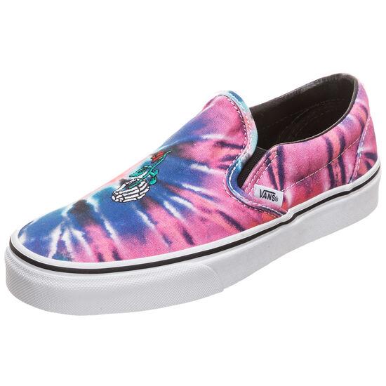 Classic Slip-On Sneaker Damen, pink / blau, zoom bei OUTFITTER Online