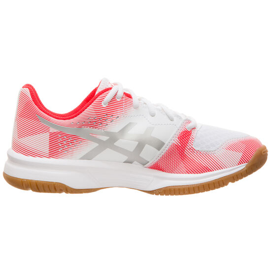 GEL-TACTIC GS Trainingsschuh Kinder, weiß / silber, zoom bei OUTFITTER Online