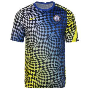 FC Chelsea Pre-Match Trainingsshirt Herren, blau / gelb, zoom bei OUTFITTER Online
