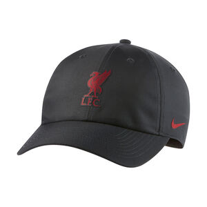 FC Liverpool Heritage86 Strapback Cap, anthrazit / rot, zoom bei OUTFITTER Online