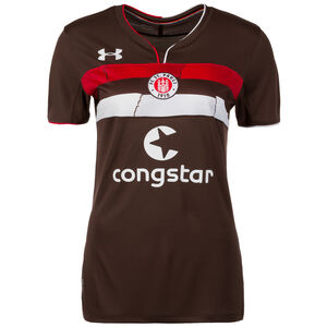 FC St. Pauli Trikot Home 2018/2019 Damen, Braun, zoom bei OUTFITTER Online