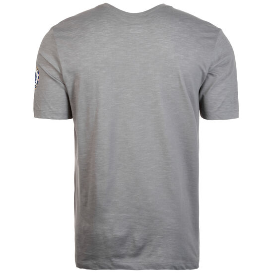 FC Chelsea Dry Preseason T-Shirt Herren, grau / dunkelblau, zoom bei OUTFITTER Online