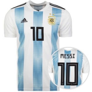 AFA Argentinien Trikot Home Messi WM 2018 Herren, Weiß, zoom bei OUTFITTER Online