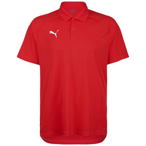 Liga Sideline Poloshirt Herren, rot / weiß, zoom bei OUTFITTER Online