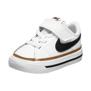 Court Legacy Sneaker Kinder, weiß / schwarz, zoom bei OUTFITTER Online