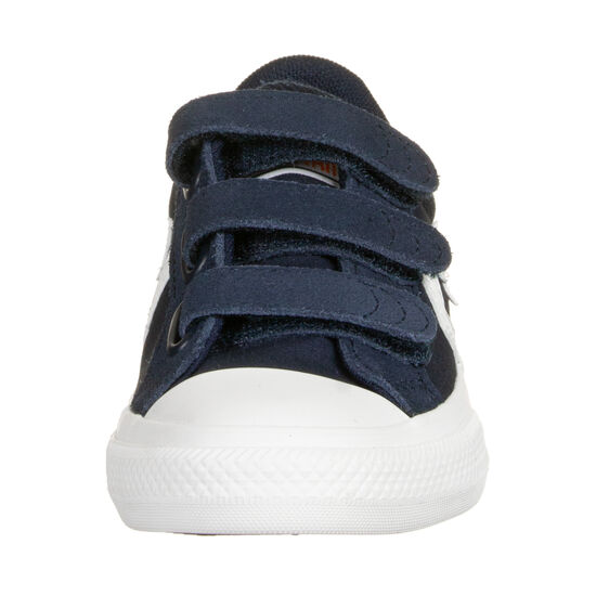 Star Player 3V OX Sneaker Kinder, dunkelblau / weiß, zoom bei OUTFITTER Online
