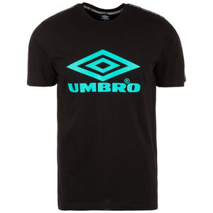 Foundry Taped T-Shirt Herren, schwarz / türkis, zoom bei OUTFITTER Online