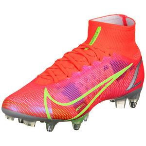 Mercurial Superfly 8 Elite DF SG-Pro AC Fußballschuh Herren, neonrot / pink, zoom bei OUTFITTER Online