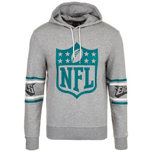 NFL Badge Philadelphia Eagles Kapuzenpullover Herren, grau / türkis, zoom bei OUTFITTER Online