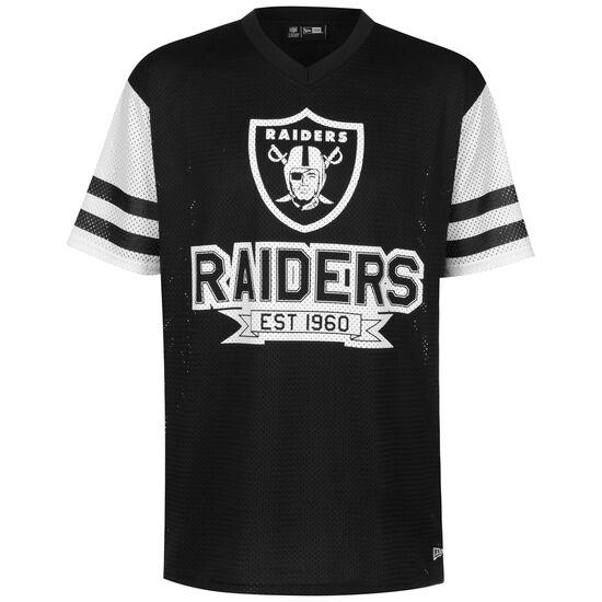 NFL Oakland Raiders Oversized T-Shirt Herren, schwarz / weiß, zoom bei OUTFITTER Online