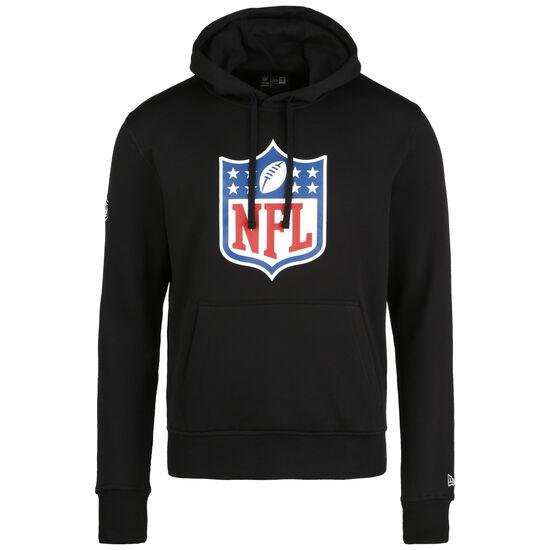 NFL Logo Kapuzenpullover Herren, schwarz / weiß, zoom bei OUTFITTER Online