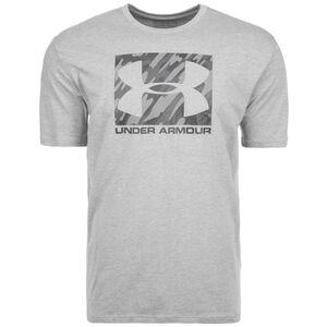 HeatGear Boxed Sportstyle Trainingsshirt Herren, hellgrau, zoom bei OUTFITTER Online