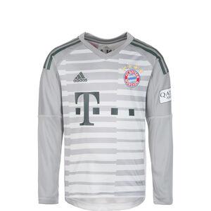 FC Bayern München Torwarttrikot Home 2018/2019 Kinder, Grau, zoom bei OUTFITTER Online