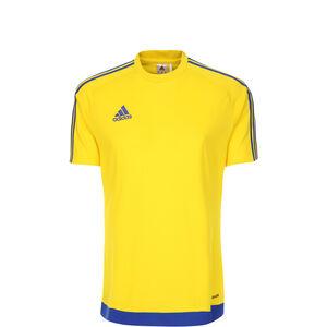Estro 15 Fußballtrikot Kinder, gelb / blau, zoom bei OUTFITTER Online