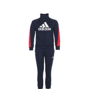 Badge Of Sport Trainingsanzug Kinder, dunkelblau / rot, zoom bei OUTFITTER Online