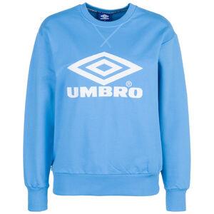 New Logo Crew Sweatshirt Damen, blau / weiß, zoom bei OUTFITTER Online