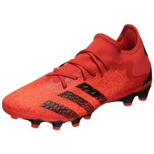 Predator Freak .3 L MG Fußballschuh Herren, rot / schwarz, zoom bei OUTFITTER Online