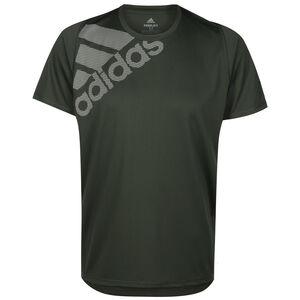 Freelift Badge of Sport Grapfic Trainingsshirt Herren, graugrün, zoom bei OUTFITTER Online