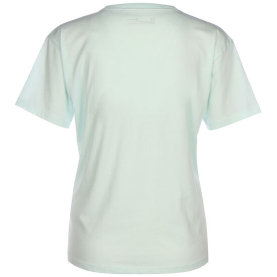 Graphic Trainingsshirt Damen, hellblau / weiß, zoom bei OUTFITTER Online