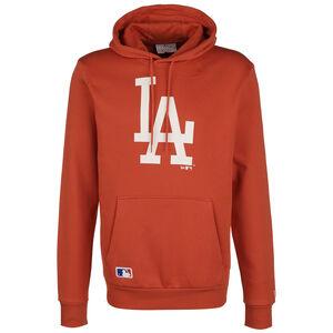MLB Los Angeles Dodgers Seasonal Team Logo Kapuzenpullover Herren, orange, zoom bei OUTFITTER Online
