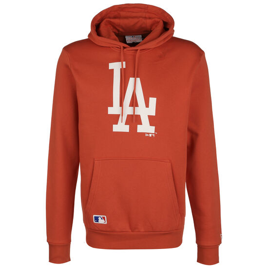 MLB Los Angeles Dodgers Seasonal Team Logo Kapuzenpullover Herren, orange, zoom bei OUTFITTER Online