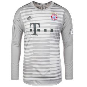 FC Bayern München Torwarttrikot Home 2018/2019 Herren, Grau, zoom bei OUTFITTER Online