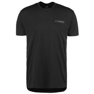 Terrex Primeblue Logo Laufshirt Herren, schwarz, zoom bei OUTFITTER Online