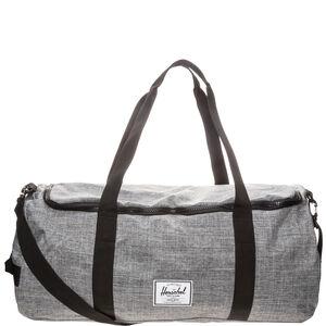 Sutton Duffel Tasche, grau / schwarz / rot, zoom bei OUTFITTER Online