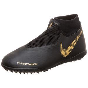 Phantom Vision Academy DF TF Fußballschuh Herren, schwarz / gold, zoom bei OUTFITTER Online