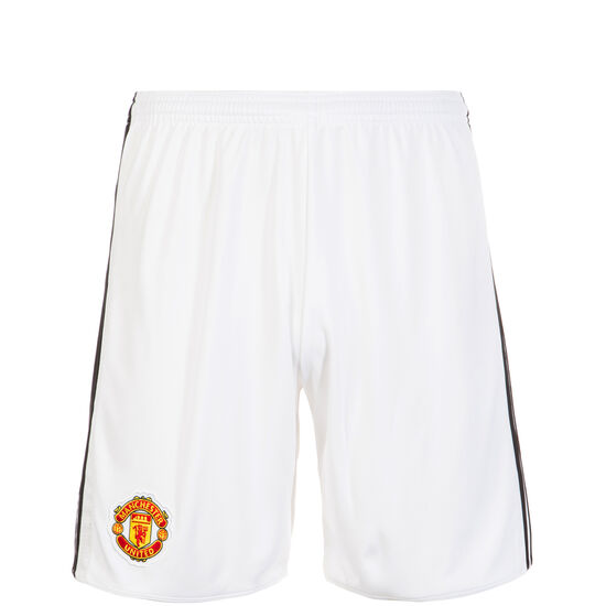 Manchester United Short Home 2017/2018 Kinder, Weiß, zoom bei OUTFITTER Online