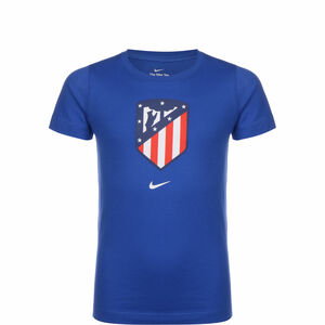 Atletico Madrid Evergreen Crest T-Shirt Kinder, blau / rot, zoom bei OUTFITTER Online