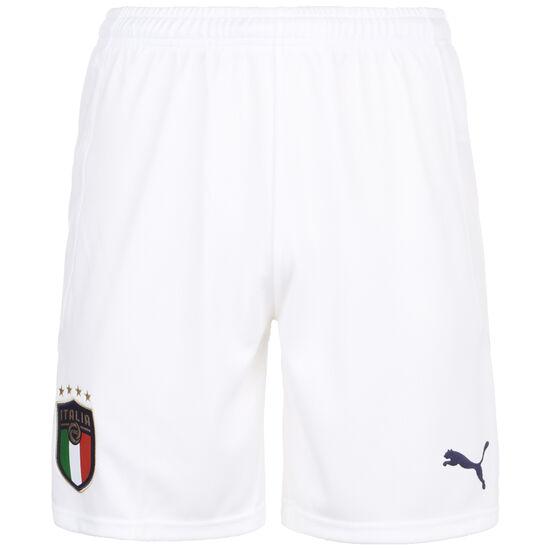 FIGC Italien Short Home/Away EM 2020 Herren, weiß / dunkelblau, zoom bei OUTFITTER Online